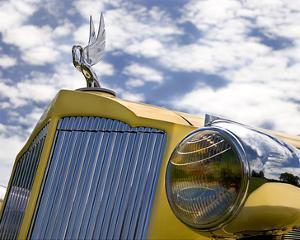 Yellow Packard by Richard James