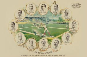 Our Baseball Heroes - Captains of the Twelve Clubs in the National League by Richard K. Fix