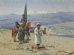 Imam Shamil in the Caucasus by Richard Karl Sommer
