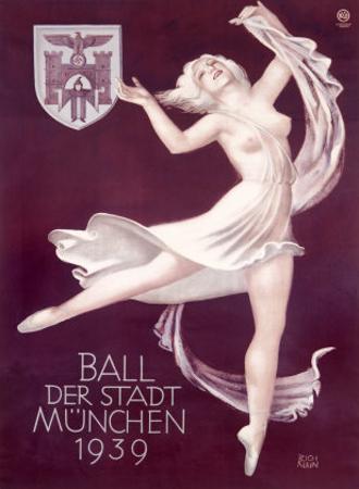 Ball Der Stadt Munchen by Richard Klein