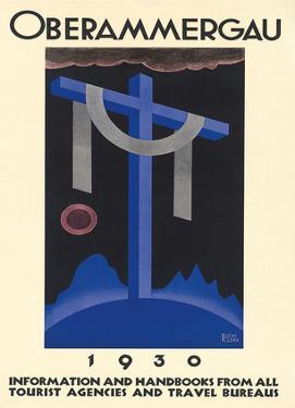 Oberammergau c.1930 by Richard Klein