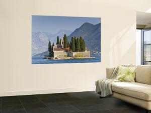 Benedictine Monastery on St George's Island in Bay of Kotor by Richard l'Anson