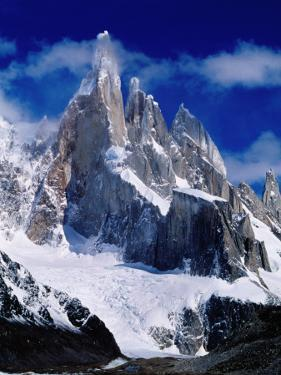 Cerro Torre (3102M) from Laguna Torre by Richard l'Anson