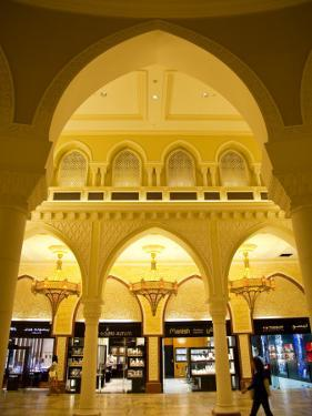 Interior of Dubai Mall Shopping Centre by Richard l'Anson