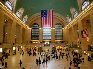 Interior of Grand Central Terminus by Richard l'Anson