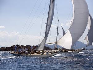 Havsornen Sailing at the Panerai Classics, Sardinia, September 2007 by Richard Langdon