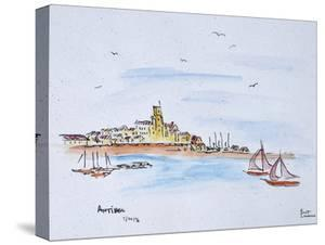 Antibes on the Mediterranean, France by Richard Lawrence