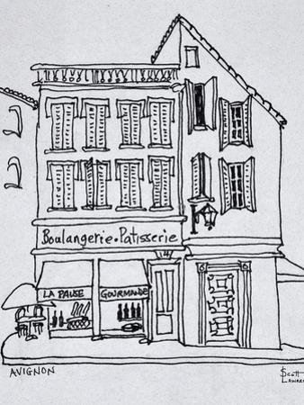 Boulangerie Patisserie, Avignon, France by Richard Lawrence