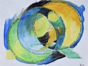 Freeform abstract of feelings. by Richard Lawrence