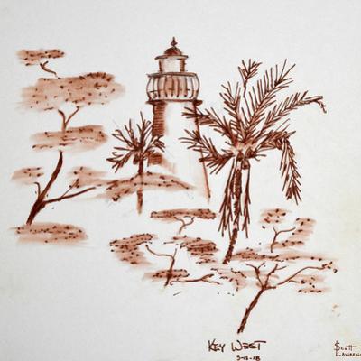 Lighthouse on Key West, Florida, USA by Richard Lawrence