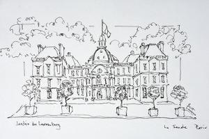 Luxembourg Palace, rue de Vaugirard, Paris, France by Richard Lawrence
