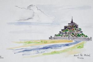 Mont Saint-Michel, Normandy, France by Richard Lawrence