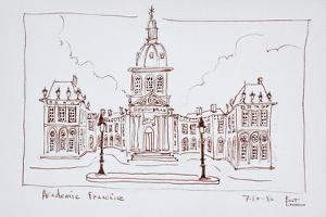 The French Academy, Paris, France by Richard Lawrence