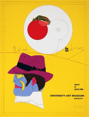 University Art Museum by Richard Lindner