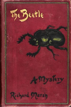 Illustrated Front Cover For a Suburban Horror Story About a Sexually Rapacious Insect Monster