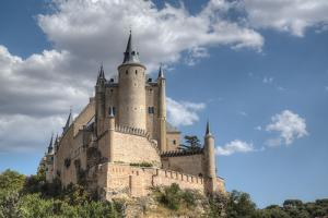Alcazar, Segovia, UNESCO World Heritage Site, Castile y Leon, Spain, Europe by Richard Maschmeyer
