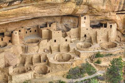 Anasazi Ruins, Cliff Palace, Dating from Between 600 Ad and 1300 Ad
