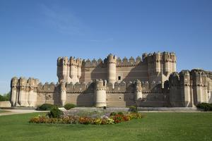 Castle of Coca, built 15th century, Coca, Segovia, Castile y Leon, Spain, Europe by Richard Maschmeyer
