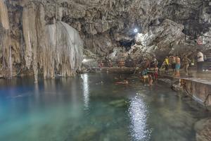 Cenote Dzitnup, Near Valladolid, Yucatan, Mexico, North America by Richard Maschmeyer
