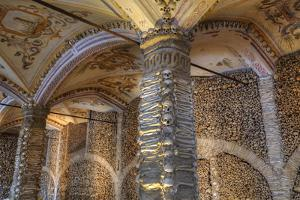 Chapel of Bones, Royal Church of St. Francis, Evora, UNESCO World Heritage Site, Portugal, Europe by Richard Maschmeyer
