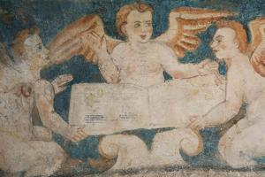 Close-Up of 16th Century Frescoes by Richard Maschmeyer