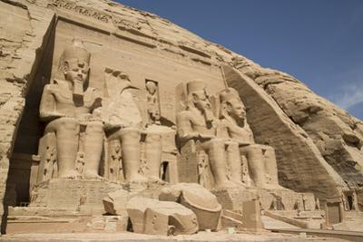 Colossi of Ramses Ii, Sun Temple, Abu Simbel, Egypt, North Africa, Africa by Richard Maschmeyer