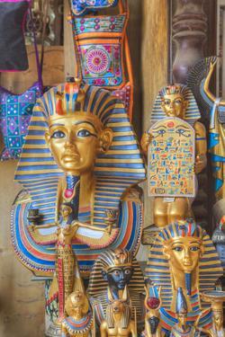 Goods for Sale, Khan Al-Khali Bazaar, Cairo, Egypt, North Africa, Africa by Richard Maschmeyer