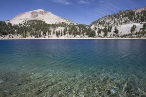 Hellen Lake with Mount Lassen by Richard Maschmeyer