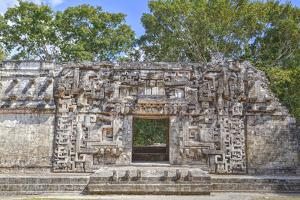 Monster Mouth Doorway, Structure Ii, Chicanna by Richard Maschmeyer