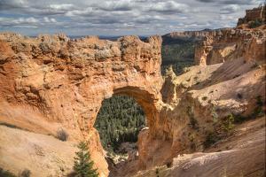 Natural Bridge, Bryce Canyon National Park, Utah, United States of America, North America by Richard Maschmeyer