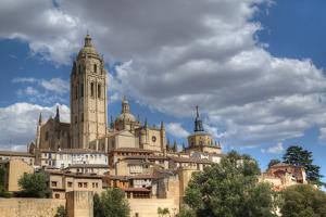 Nuestra Senora de la Asuncion y San Frutos Cathedral, Segovia, UNESCO World Heritage Site, Spain by Richard Maschmeyer