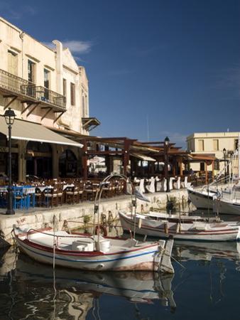 Old Venetian Harbor, Rethymno, Crete, Greek Islands, Greece, Europe by Richard Maschmeyer