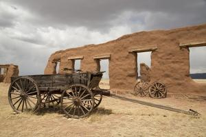 Old Wagons, Fort Union National Monument, New Mexico, United States of America, North America by Richard Maschmeyer