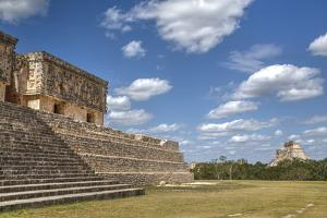 Palace of the Governor, Uxmal, Mayan Archaeological Site, Yucatan, Mexico, North America by Richard Maschmeyer