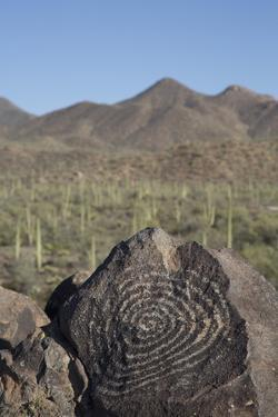 Petroglyphs, Created by the Prehistoric Hohokam People, About 1000 Years Ago by Richard Maschmeyer
