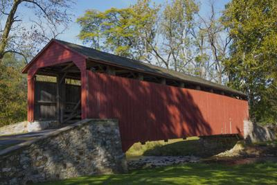 Pool Forge Covered Bridge, built in 1859, Lancaster County, Pennsylvania, United States of America, by Richard Maschmeyer
