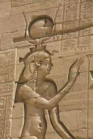 Relief Depicting the Goddess Hathor