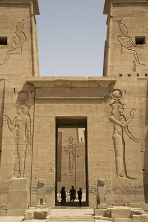 Reliefs Depicting the Goddess Hathor by Richard Maschmeyer