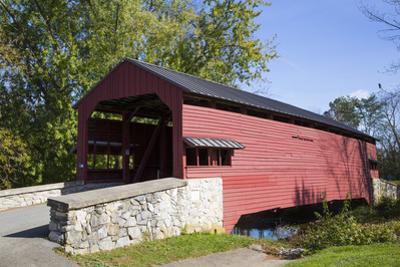 Shearer's Covered Bridge, built 1847, Lancaster County, Pennsylvania, United States of America, Nor by Richard Maschmeyer