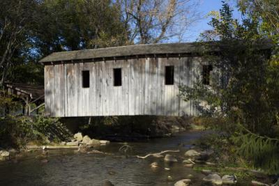 Spring Creek Covered Bridge, State College, Central County, Pennsylvania, United States of America, by Richard Maschmeyer