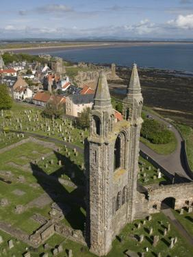 St. Andrews Cathedral, Fife, Scotland, United Kingdom, Europe by Richard Maschmeyer