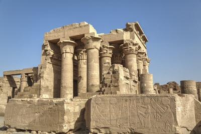 Temple of Haroeris and Sobek, Kom Ombo, Egypt, North Africa, Africa by Richard Maschmeyer