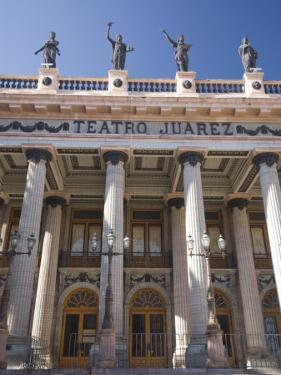 Theatro Juarez, Built Between 1873 and 1903, Guanajuato City, Guanajuato, Mexico, North America by Richard Maschmeyer