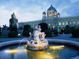 Exterior of National Opera House, Vienna, Austria by Richard Nebesky