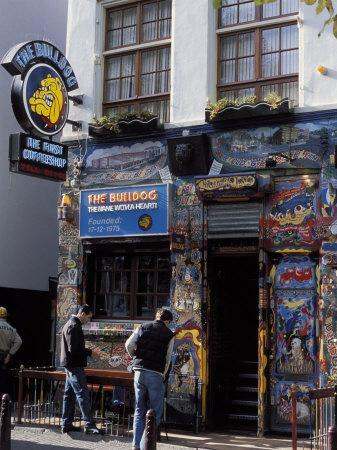 Exterior of the Bulldog Coffee Shop, Amsterdam, the Netherlands (Holland)