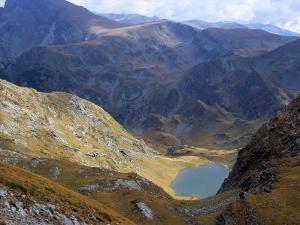 Panicata Lake in Valley Below Hajduta Peak, 2465M, in Rila Mountains, Rila National Park, Bulgaria by Richard Nebesky