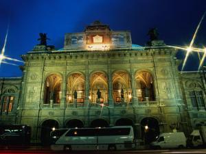 The National Opera House, Vienna, Austria by Richard Nebesky
