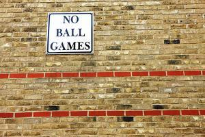 No Ball Games by Richard Newstead
