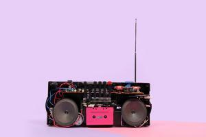 Portable Stereo by Richard Newstead