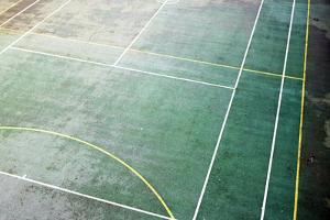 Sports Court by Richard Newstead